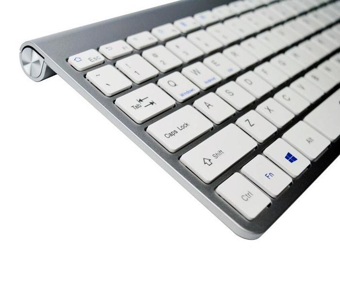 Teclado Bluetooth Elite Slim OEX TC-501 Prata###