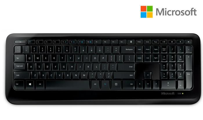 Teclado Wireless Microsoft 850