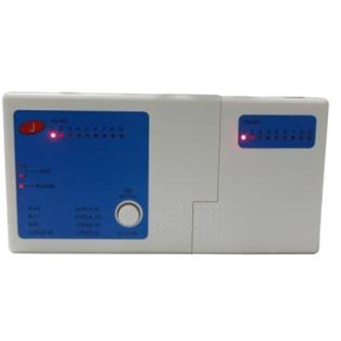 Testador de Cabos RJ45 RJ11 BNC - USB