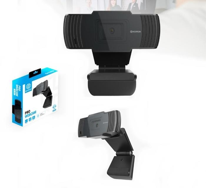Webcam HD 720P Foco Fixo Hoopson WC-001###