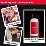 Loção Pernas Cansadas Safe Runners 120ml Alivia Fadiga Muscular