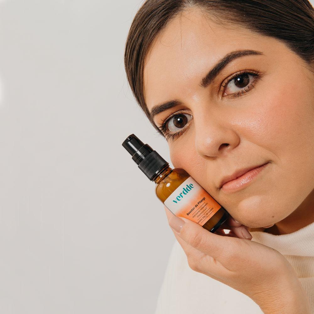 Booster de Pitanga 30g Verdde - Skincare, Óleo essencial, Vegano
