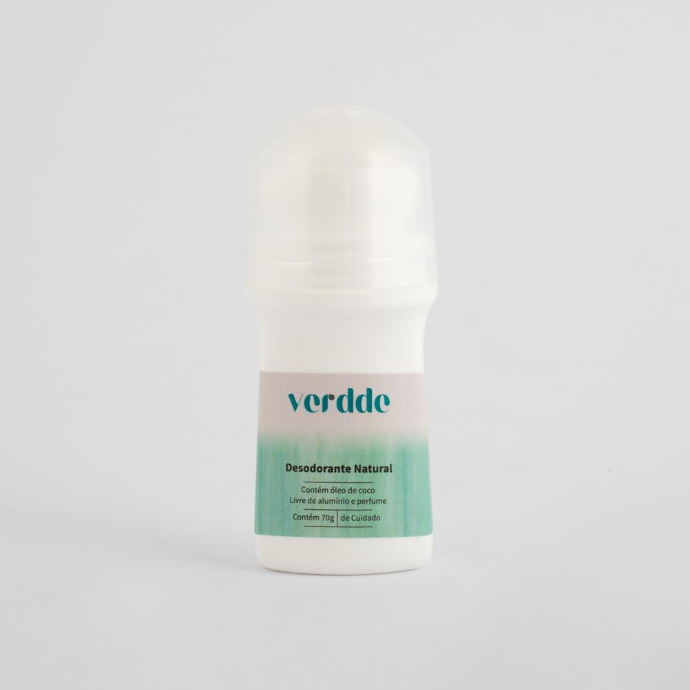 Desodorante Natural Verdde 70g Livre de: alumínio, corantes, perfume e parabenos