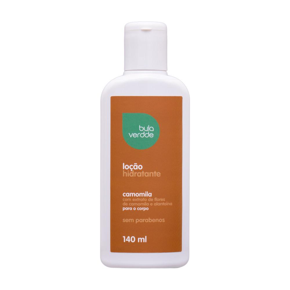 Loção Hidratante de Camomila Verdde 140ml Extratos naturais, acalmam e protegem a pele