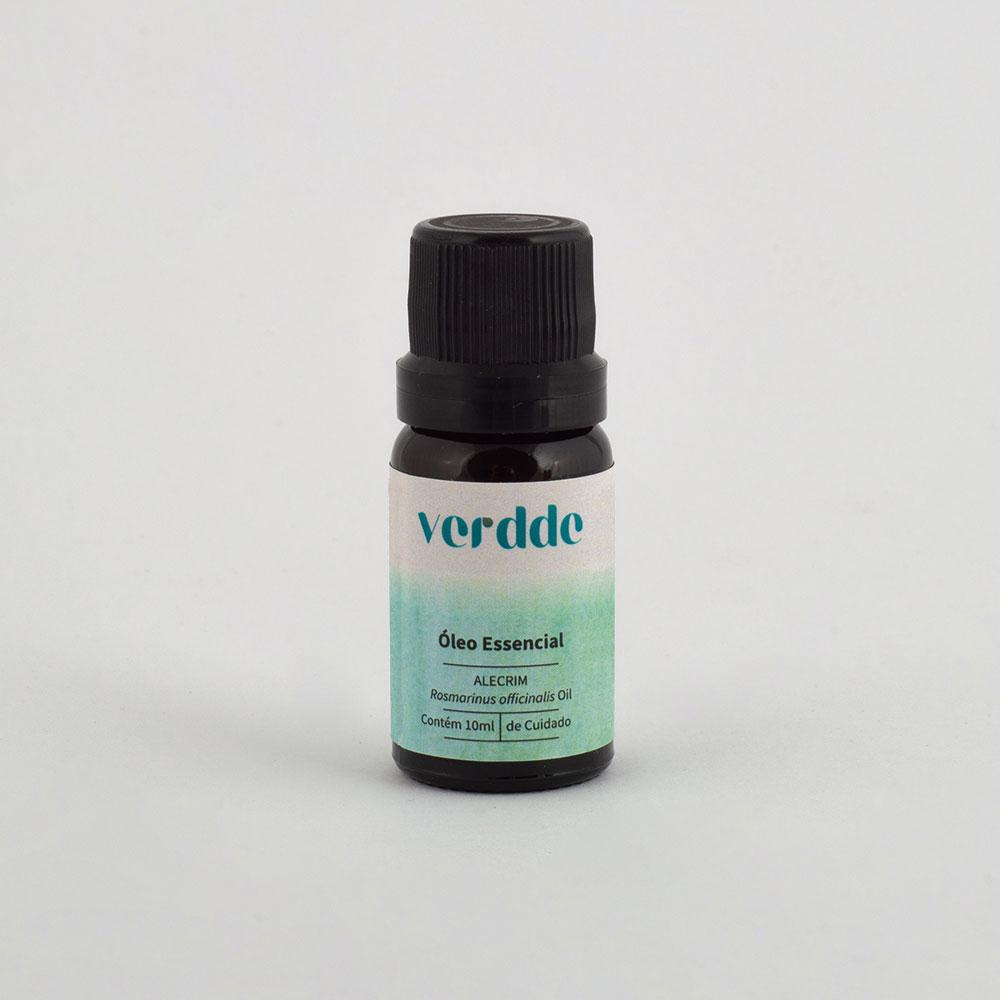Óleo Essencial de Alecrim Verdde 10ml Aroma herbáceo, auxilia na concentração, equilibra a mente e o corpo