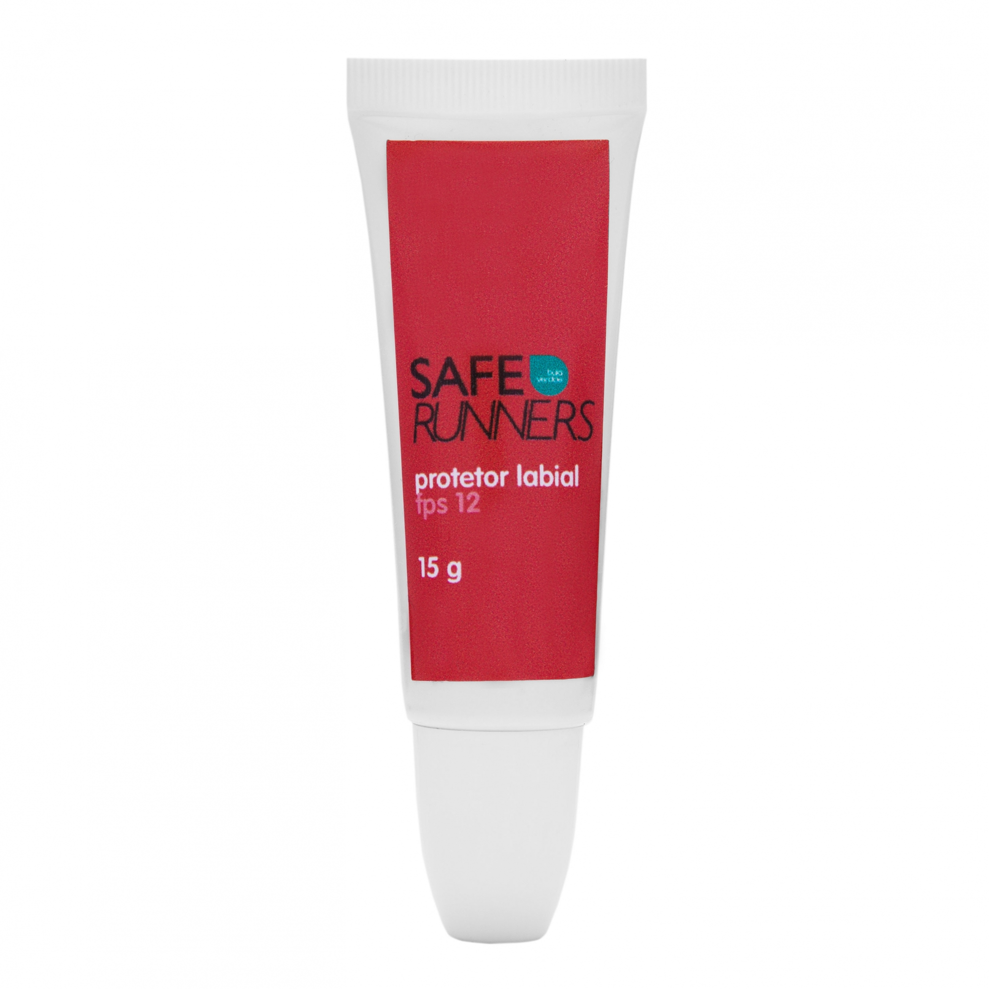 Protetor Labial FPS 12 Safe Runners 15g D-pantenol e Vitamina E