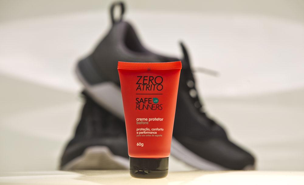 Safe Runners - Zero Atrito - Creme Protetor 60g