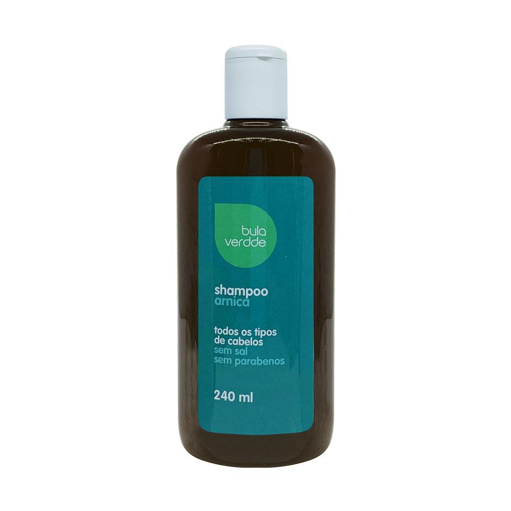 Shampoo de Arnica Verdde 240ml Ação antiseborreica e estimulante do crescimento capilar