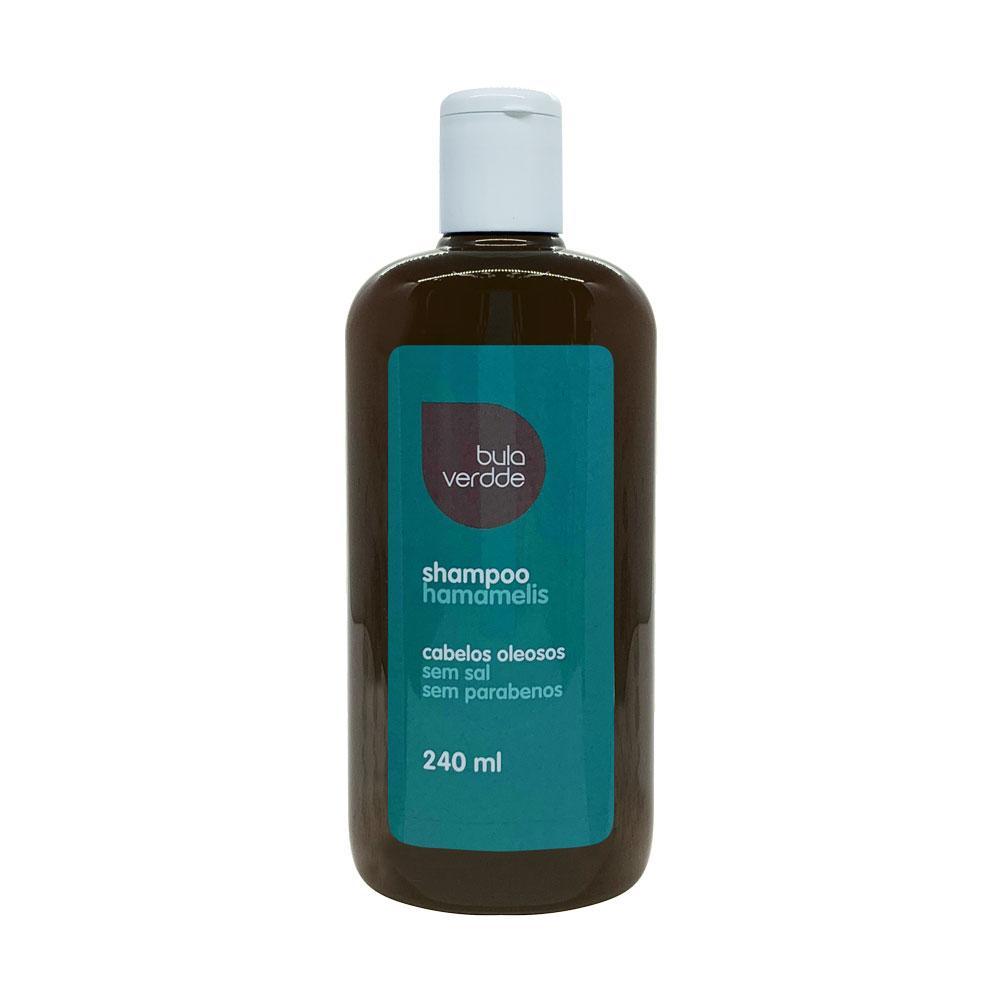 Shampoo de Hamamelis Verdde 240ml Adstrigente para cabelos oleosos