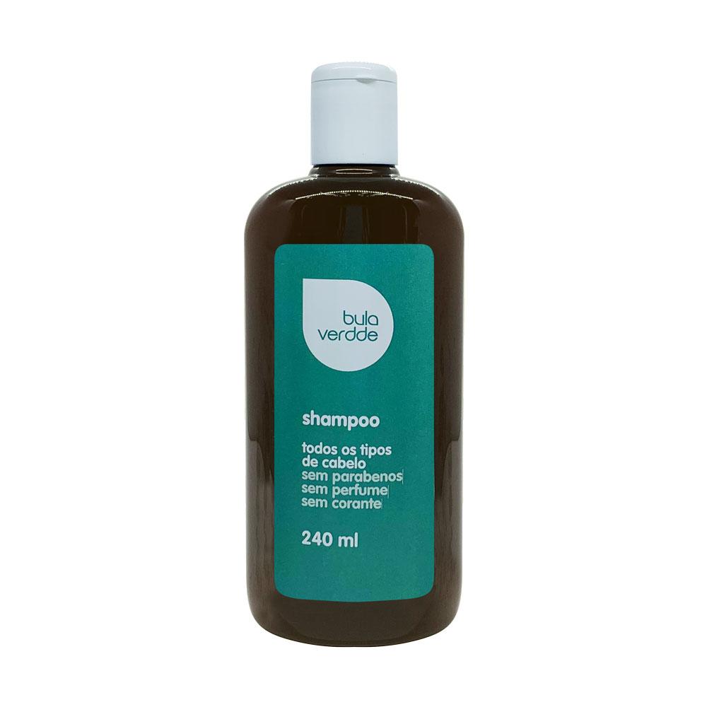 Shampoo Neutro Verdde 240ml Livre de corantes, parabenos e perfume