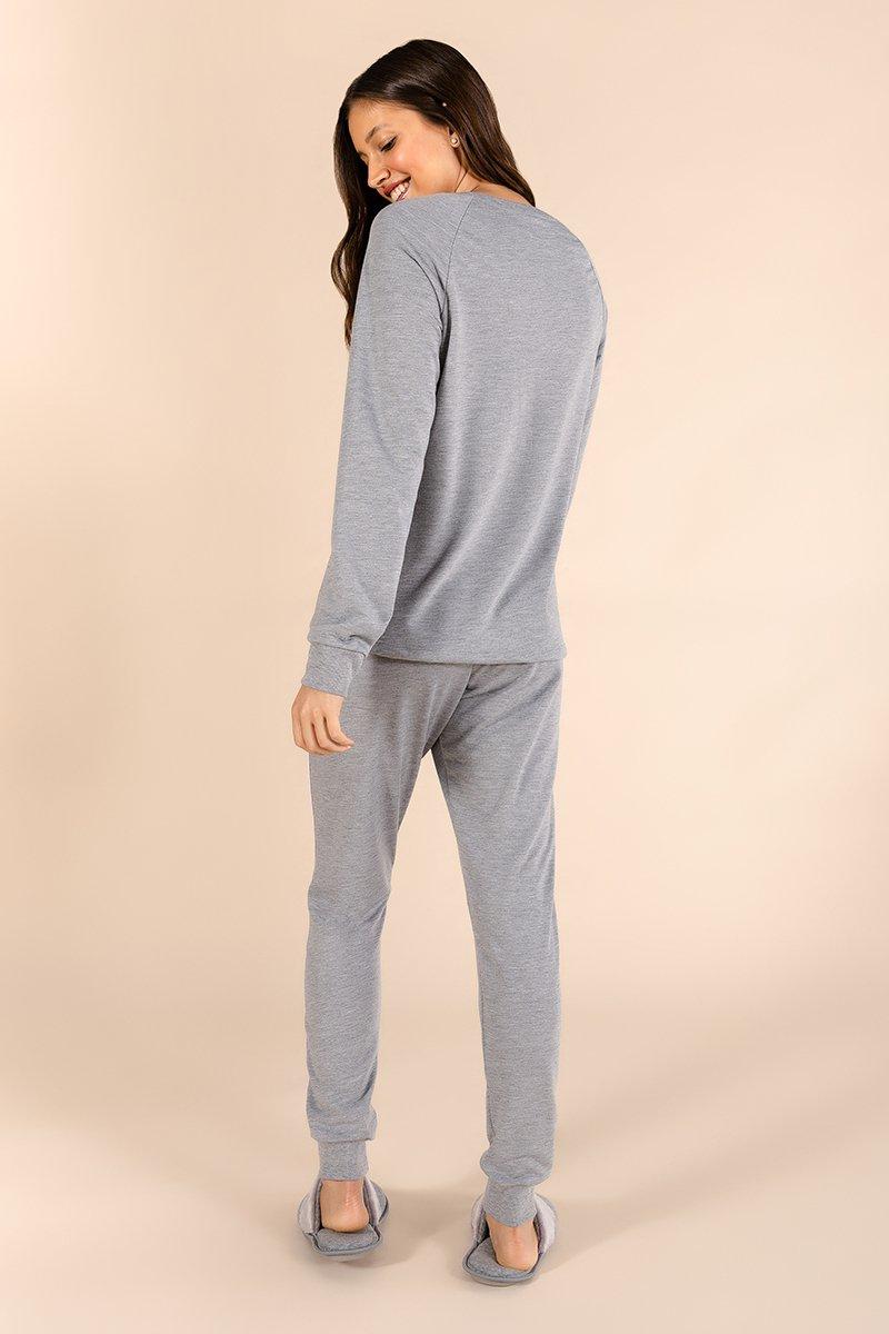 Pijama em Moletinho