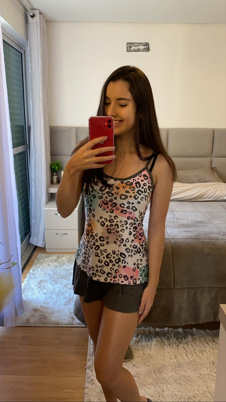 Pijama Onça Colors  Recco