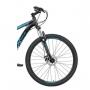 Bicicleta Mtb OX Hard Glide Aro 29 2021 - Preto e Azul