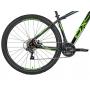 Bicicleta Mtb OX Hard Glide Aro 29 2021 - Preto e Verde