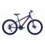 Bicicleta Oggi Hacker Sport Aro 24 - Vermelho E Amarelo