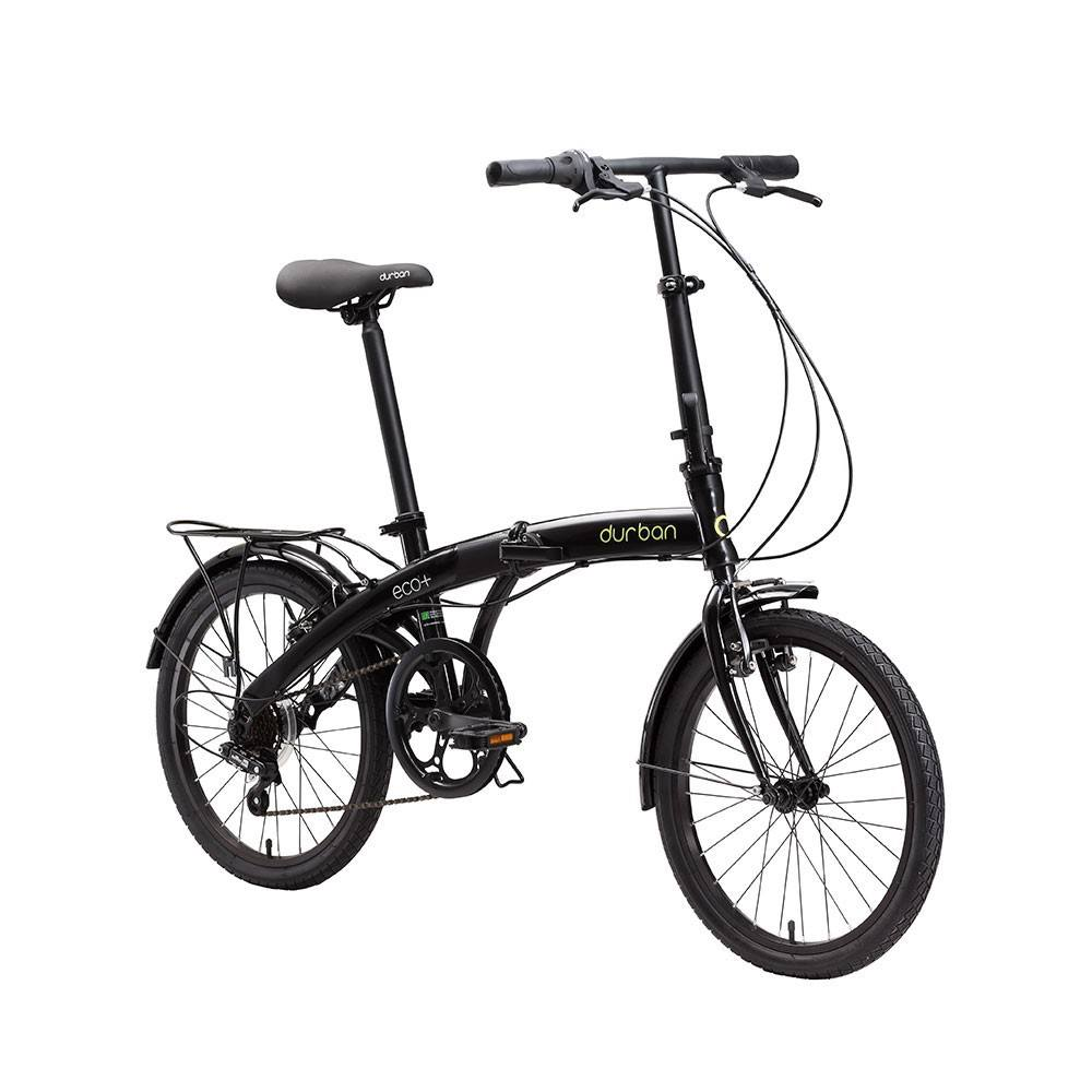 Bicicleta Dobrável Durban Eco+ 2021 - Preto