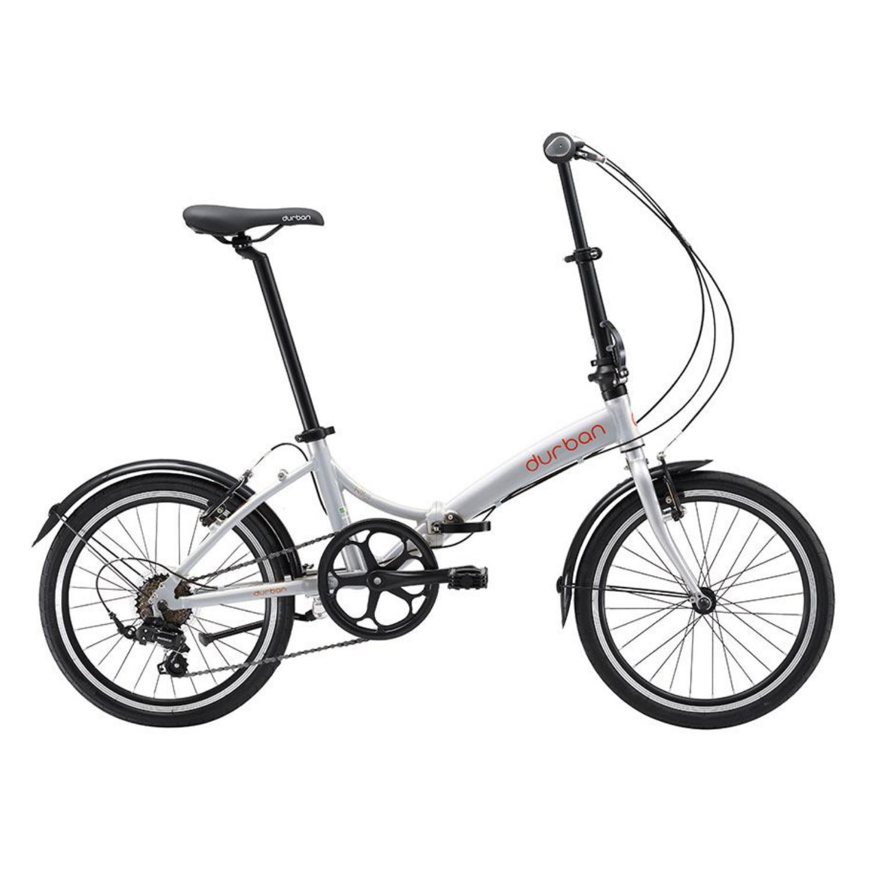 Bicicleta Dobrável Durban Rio 2021 - Prata