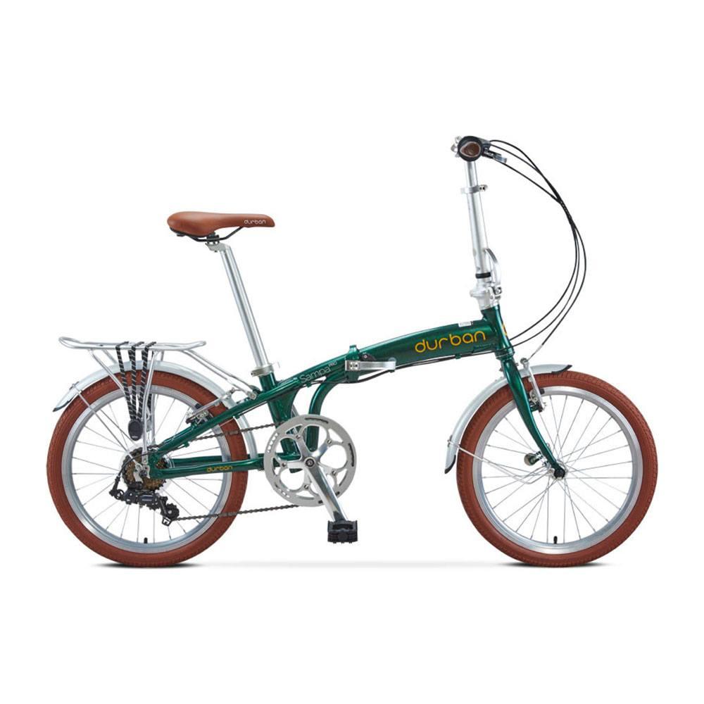 Bicicleta Dobrável Durban Sampa Pro 2021 - Verde