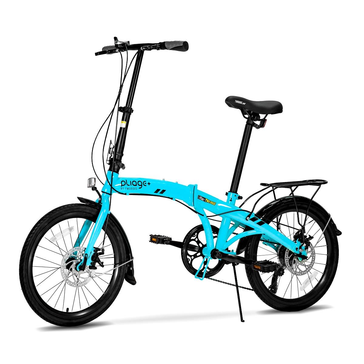 Bicicleta Dobrável Pliage Plus Two Dogs Aro 20 Shimano 7v
