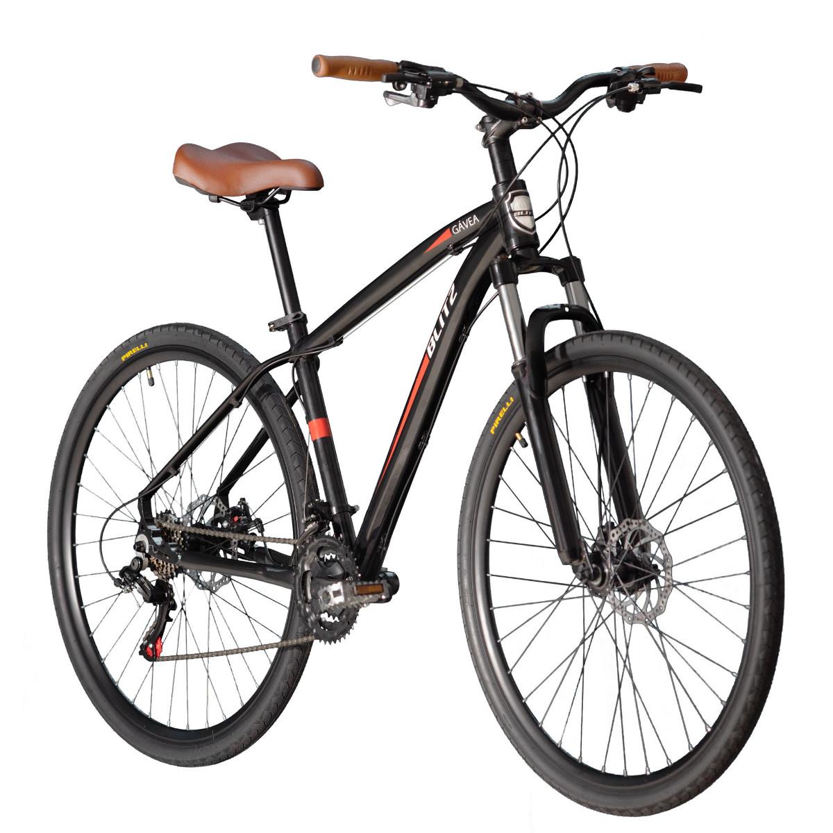 Bicicleta Híbrida Blitz Gávea Aro 700 Disc
