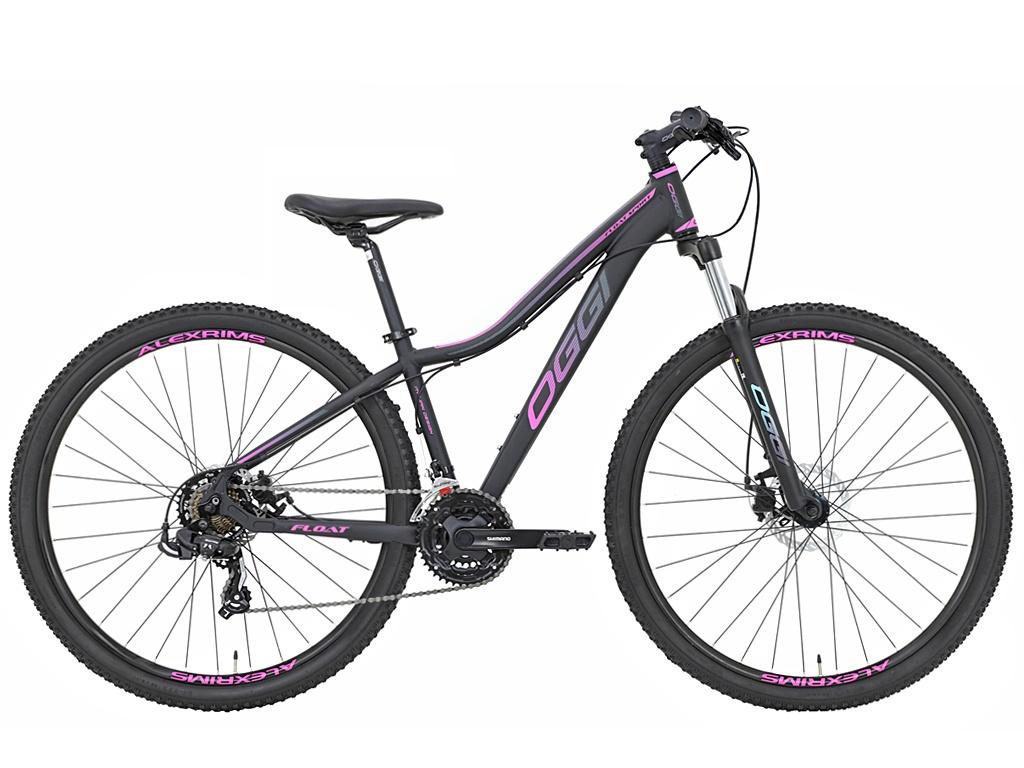 Bicicleta Mtb Feminina Oggi Float Sport 2021 Preto E Pink