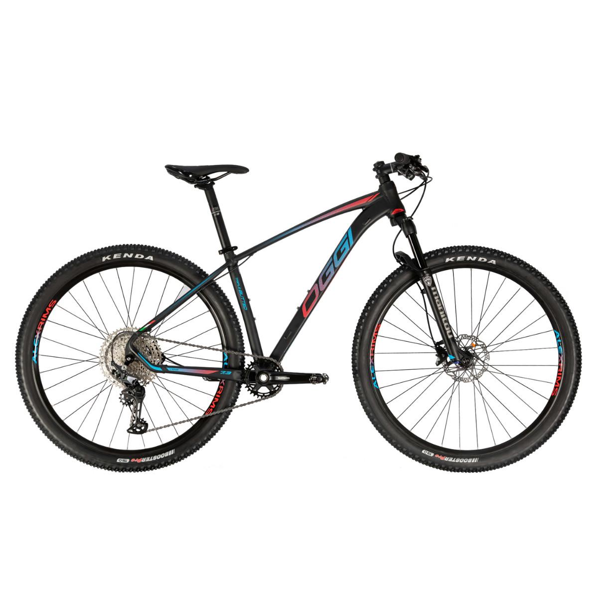 Bicicleta Mtb Oggi Big Wheel 7.3 Aro 29 2021 - Preto Vermelho e Azul