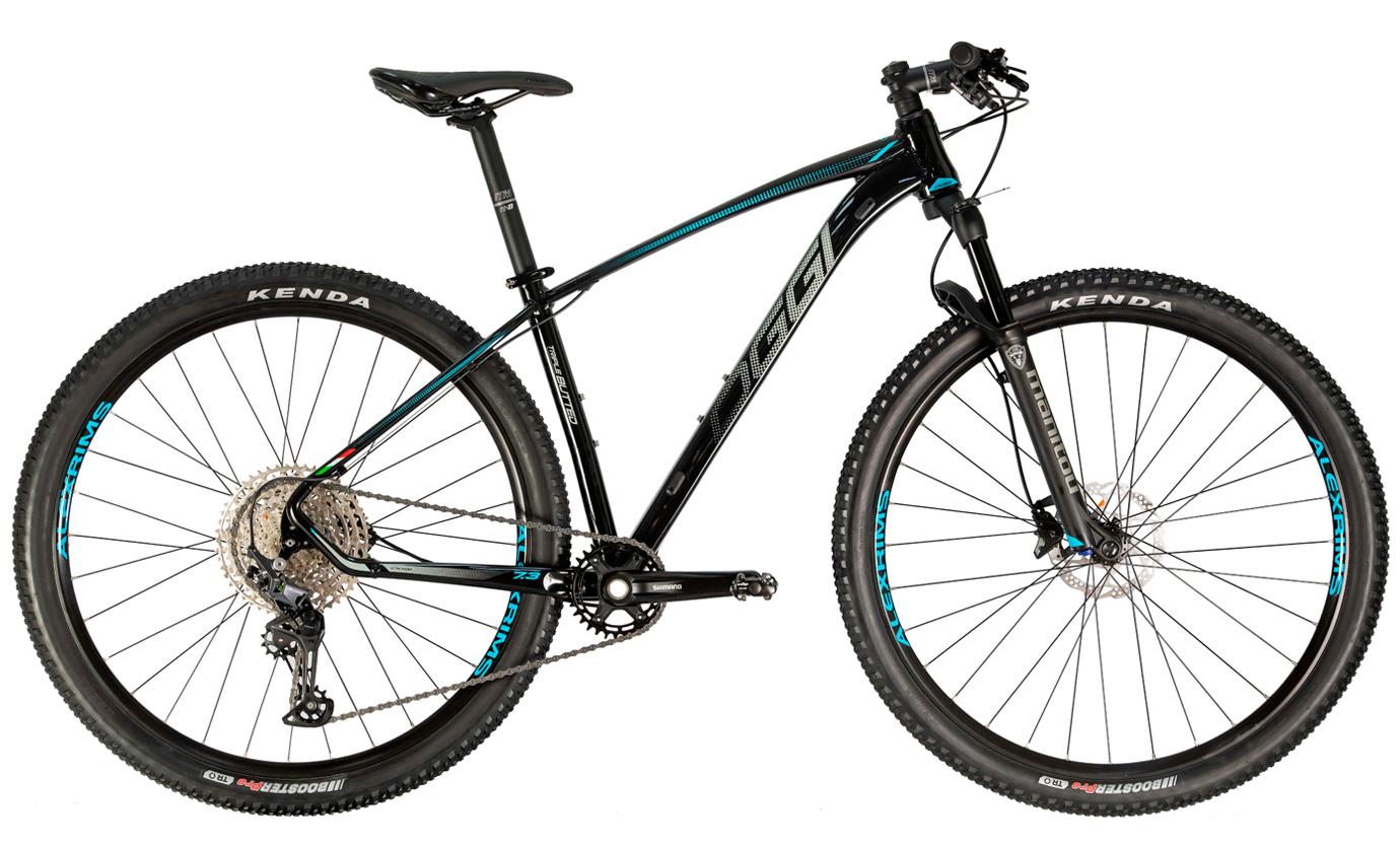 Bicicleta Mtb Oggi Big Wheel 7.3  DEORE Aro 29 2021 - Preto Grafite e Azul