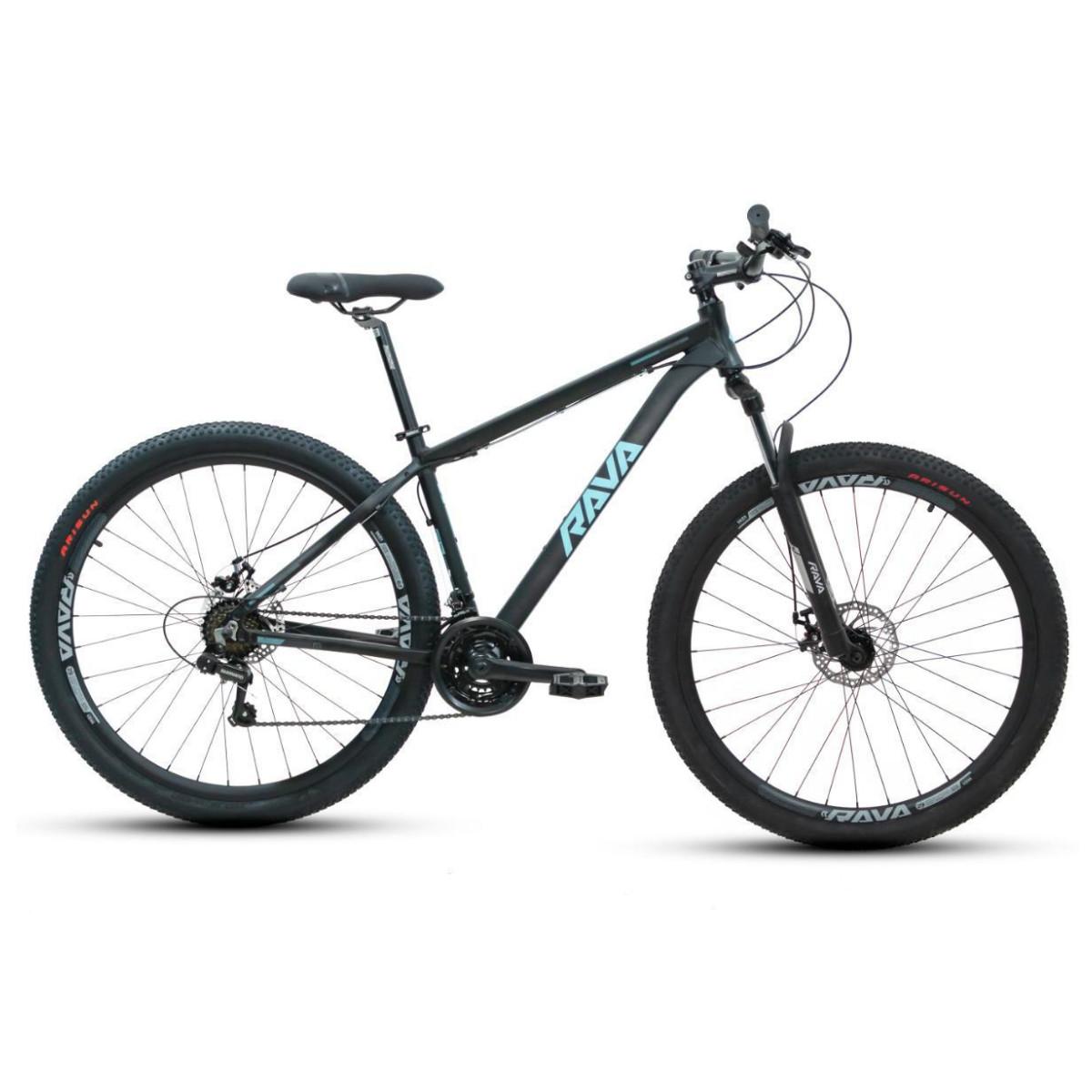 Bicicleta Mtb Rava Pressure 21V 2021 - Preto e Azul