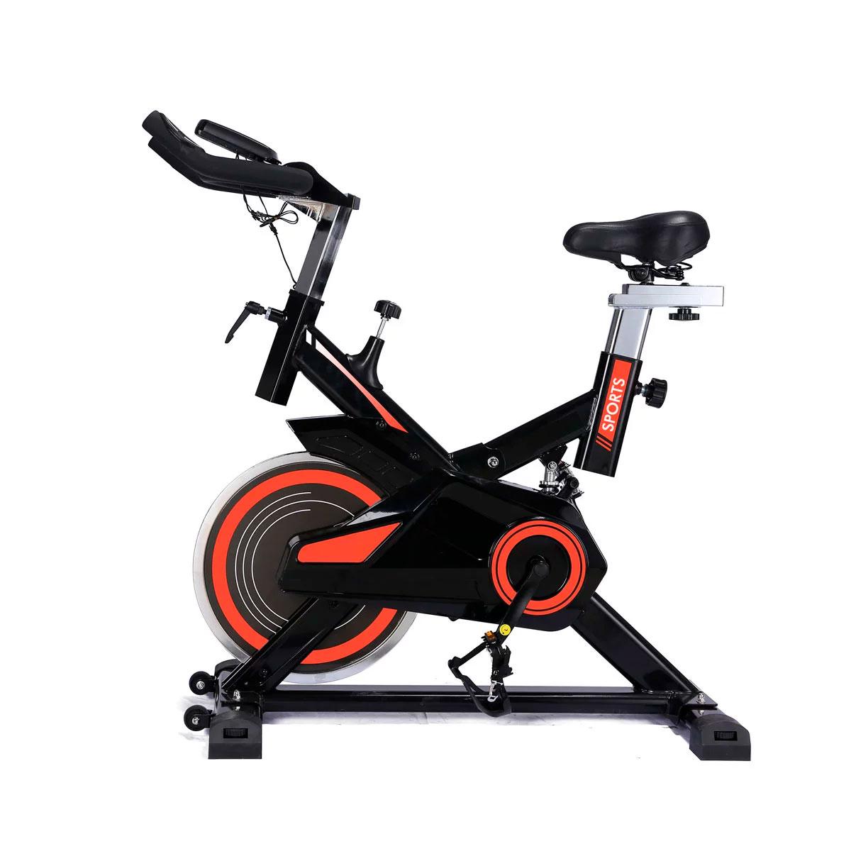 Bicicleta Spinning Freecycle 7800 - Preto E Laranja