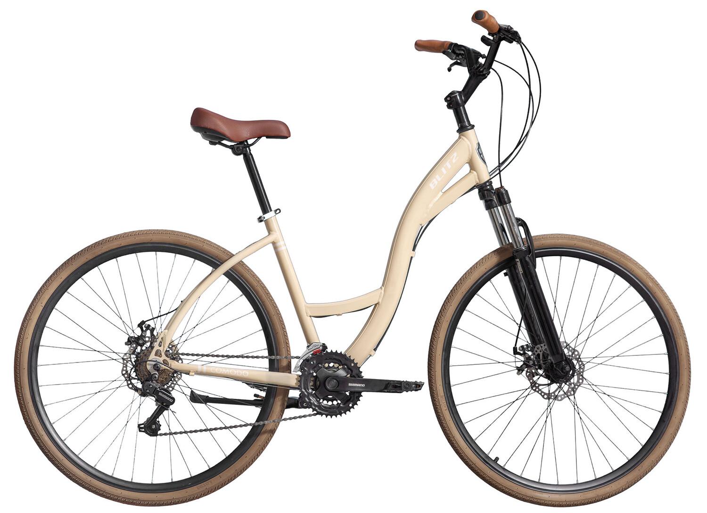 Bicicleta Urbana Blitz Comodo Aro 700-21V