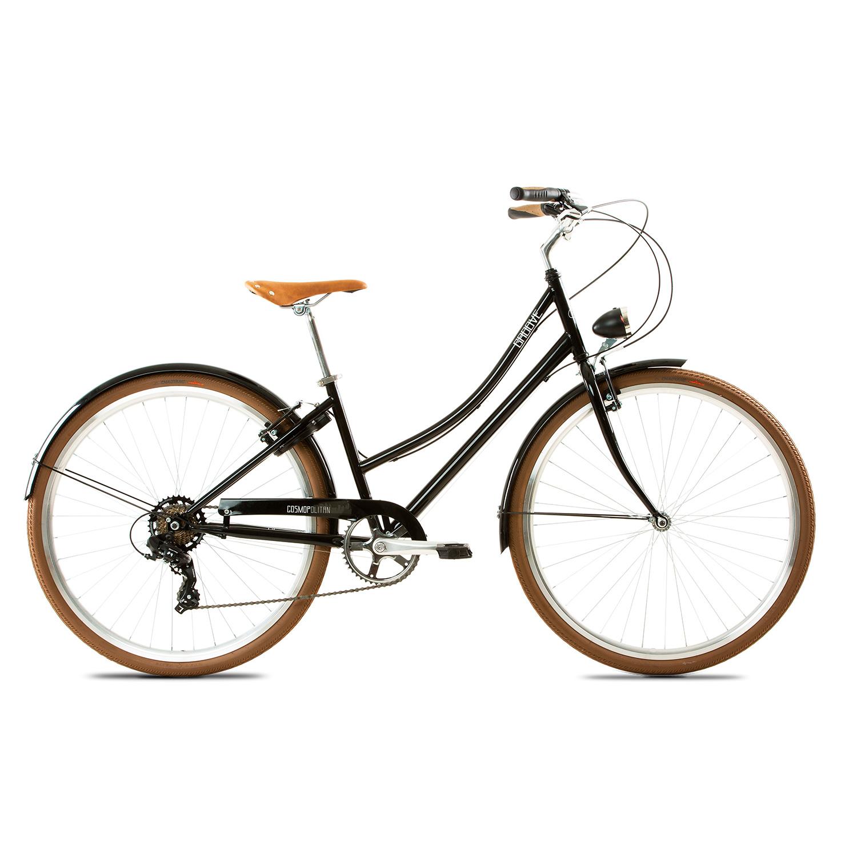 Bicicleta Urbana Groove Cosmopolitan Easy Step - Preta