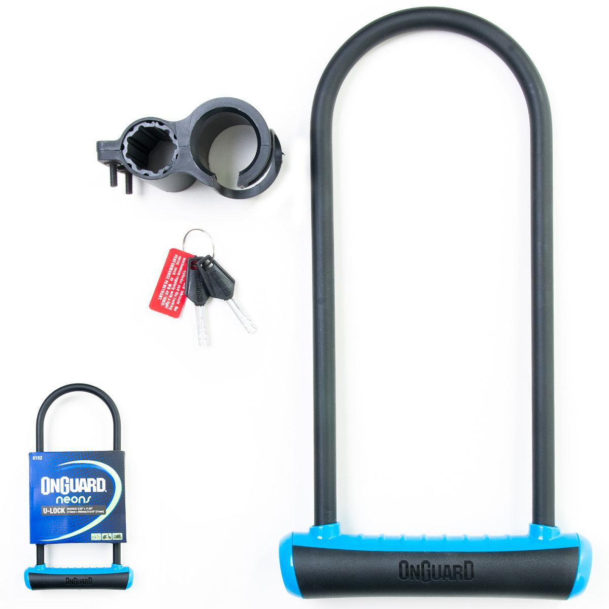 Cadeado Onguard Neon 8152 Trava U-lock P/ Bicicleta