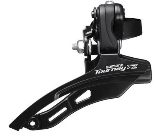 Câmbio Dianteiro Tourney Fd-Tz500 Para 42D 31.8Mm Down Swing