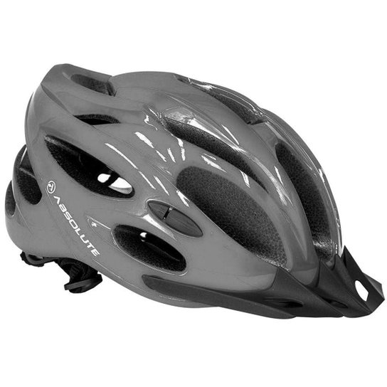 Capacete Mtb Absolute Nero com Led