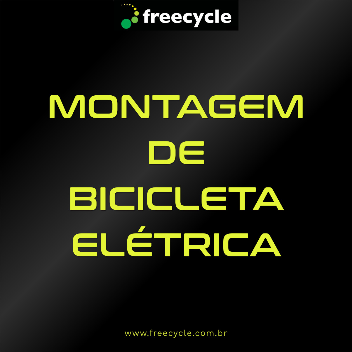 Montagem de Bicicleta Elétrica