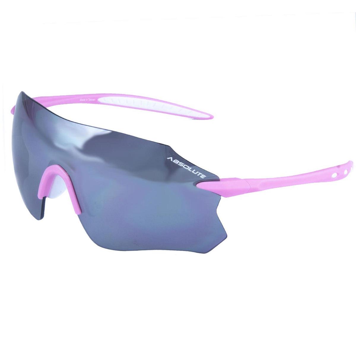 Oculos Absolute Prime Sl Bco/Rosa, Lente Pta.