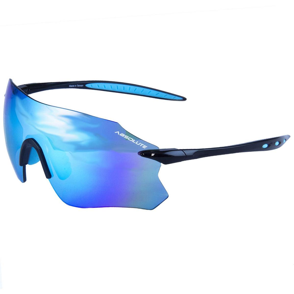 Oculos Absolute Prime Sl Pto/Azul, Lente Azul
