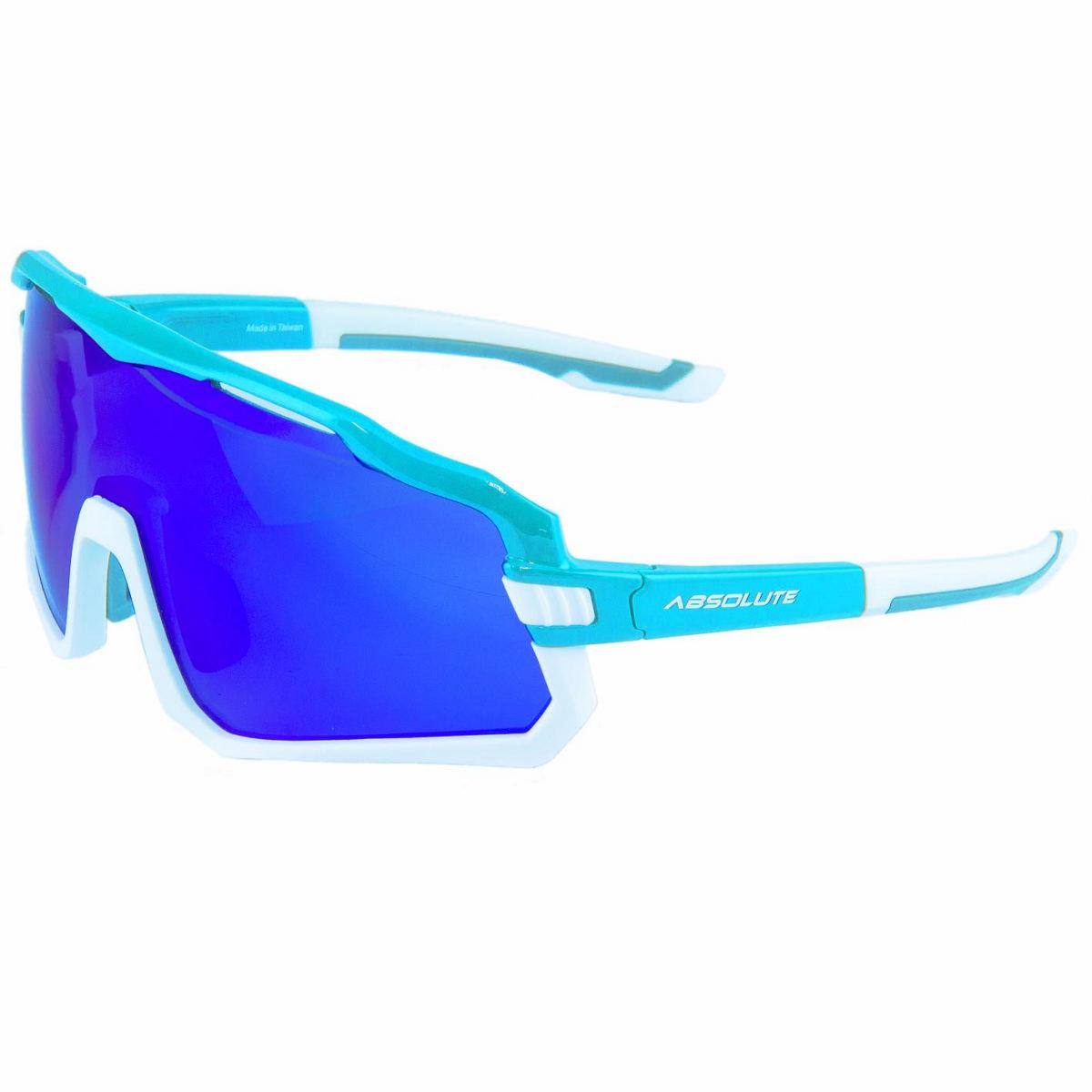 Oculos Absolute Wild Azul/Bco., Lente Azul