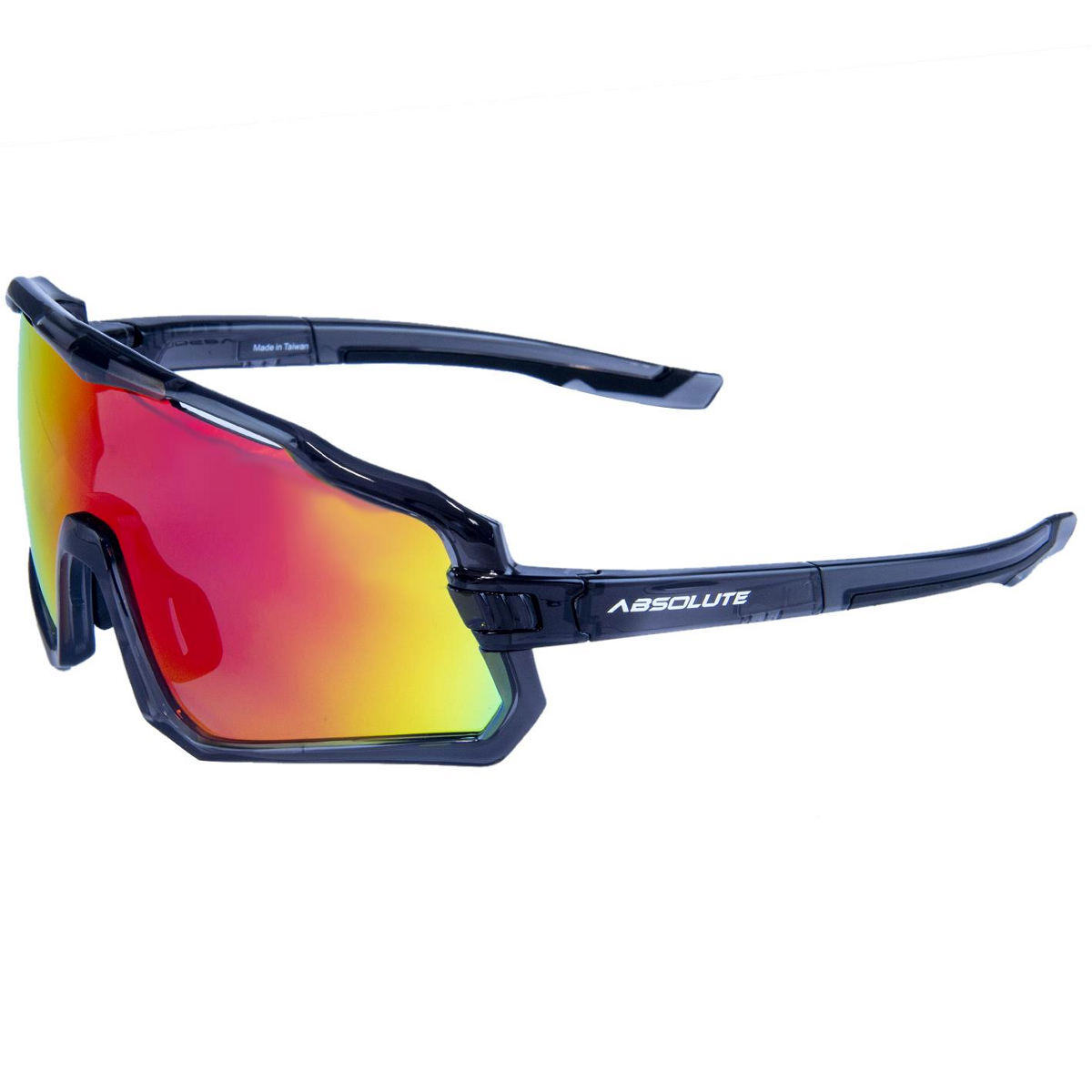 Oculos Absolute Wild Cinza, Lente Verm.