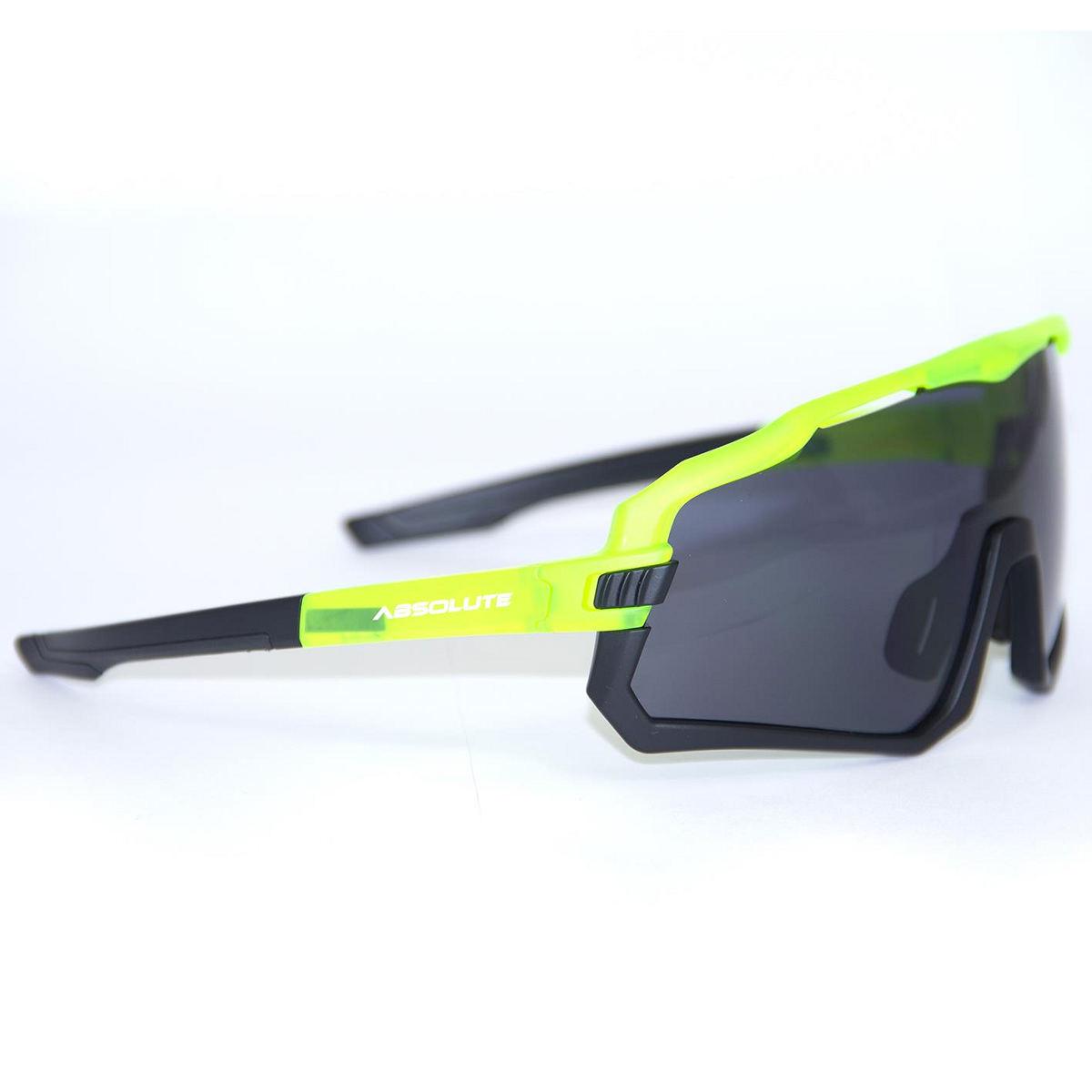 Oculos Absolute Wild Neon/Pto Lente Fume