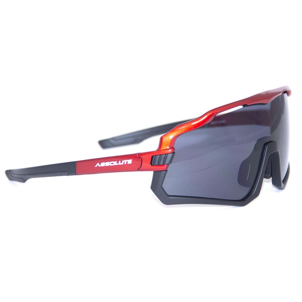 Oculos Absolute Wild Verm/Pto Lente Fume