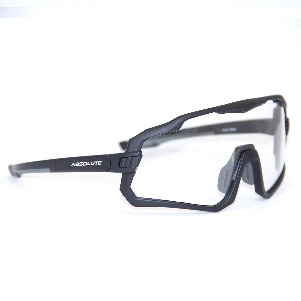 Oculos Ciclismo Absolute Wild Preto Lente Transparente