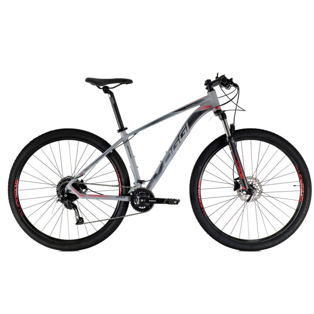 Oggi 7.0 Mountain Bike Aro 29 2021 -  Grafite Preto E Vermelho