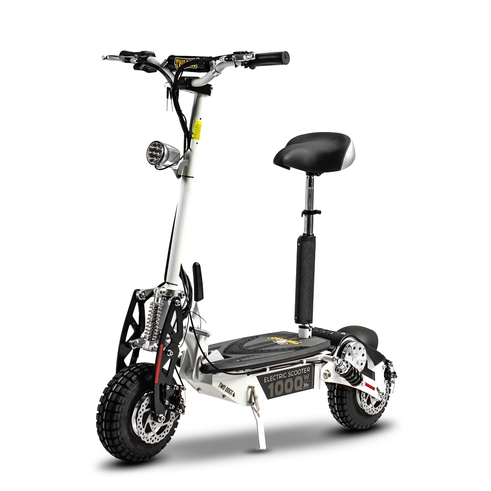 Patinete Elétrico Scooter Two Dogs 1000w 36v ? 3 Baterias
