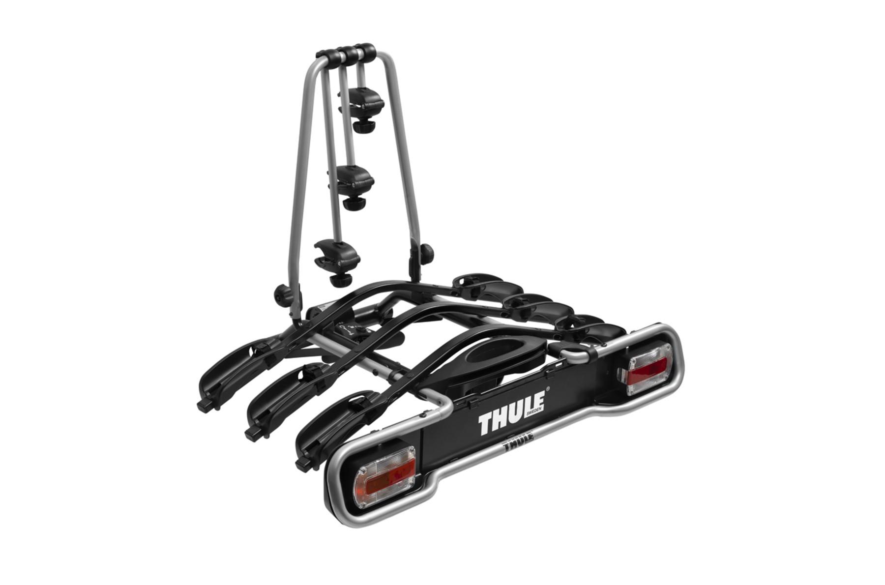 Suporte Engate Thule Euroride 943 - 3 Bicicletas - Sistema De Iluminação