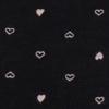 preto com coração