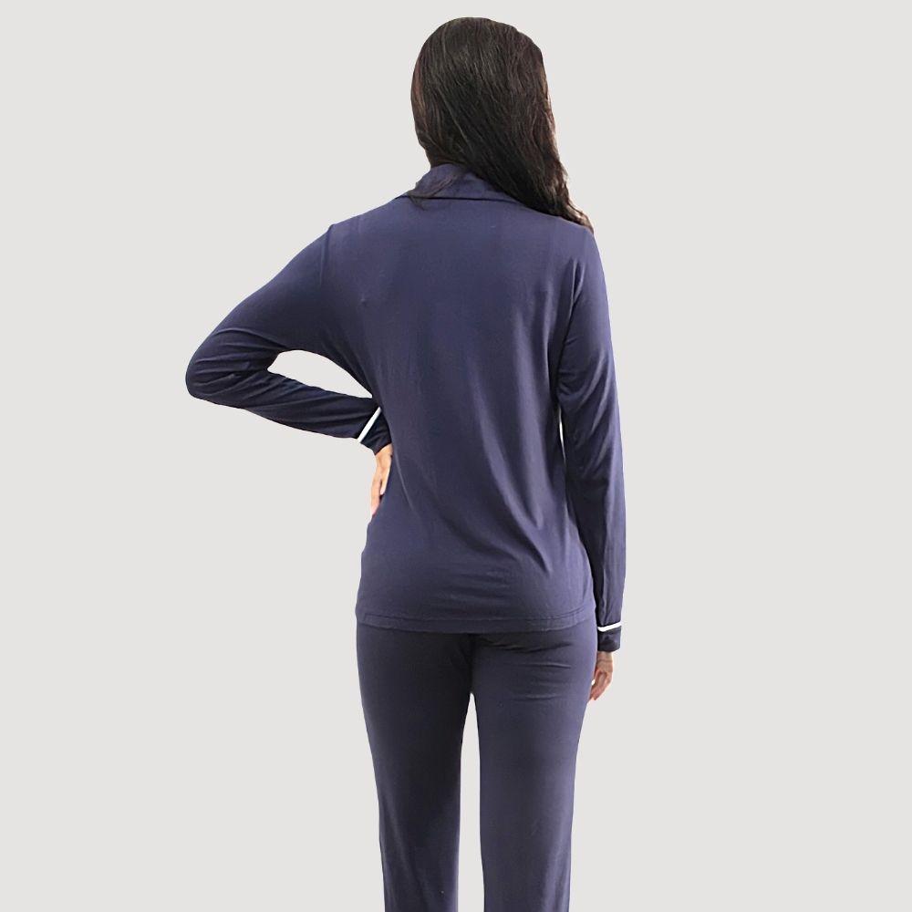 Pijama Longo em viscolycra