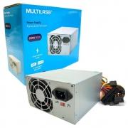 Fonte Multilaser GA230, 230W Real, Bivolt Manual