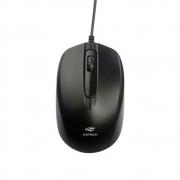 Mouse C3 Tech MS-30BK USB 3B 1000 DPI - PRETO
