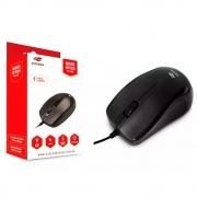 Mouse C3Tech, MS20BK, Preto, USB